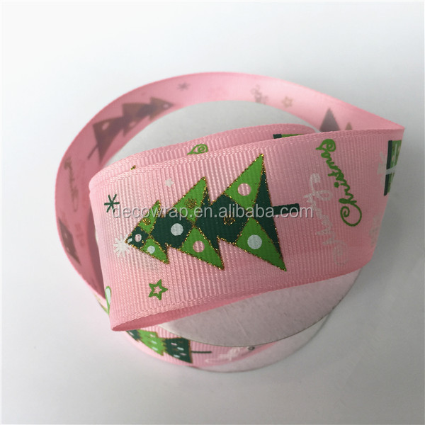 Factory Wholesale Different Size Colorful Matte 100% Polyester Grosgrain Ribbon For Garment Accessories