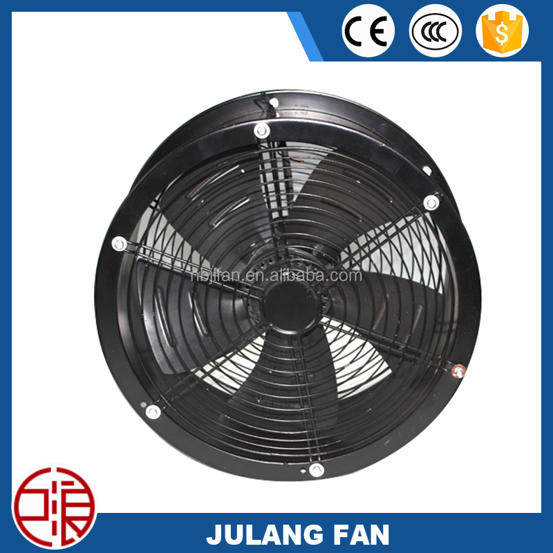 350mm round industrial axial fan motor