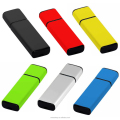 Mini rectangular shape, plastic material usb flash memory drive wholesales best selling 8GB