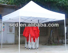 advertising pop up folding trade show tent / exhibition tents for outdoor events