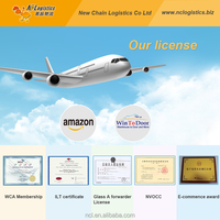 cheap fba air rate from China to USA