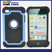 3 in 1 robot phone Case with Football pattern phone case for ipod touch 4