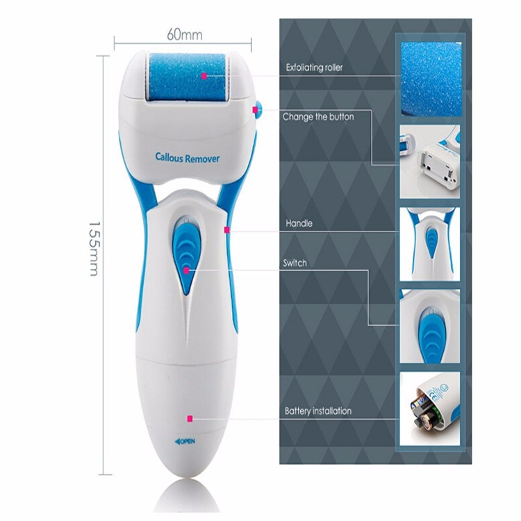 Hot sale protable foot care machine electric professional hair callus peel remover