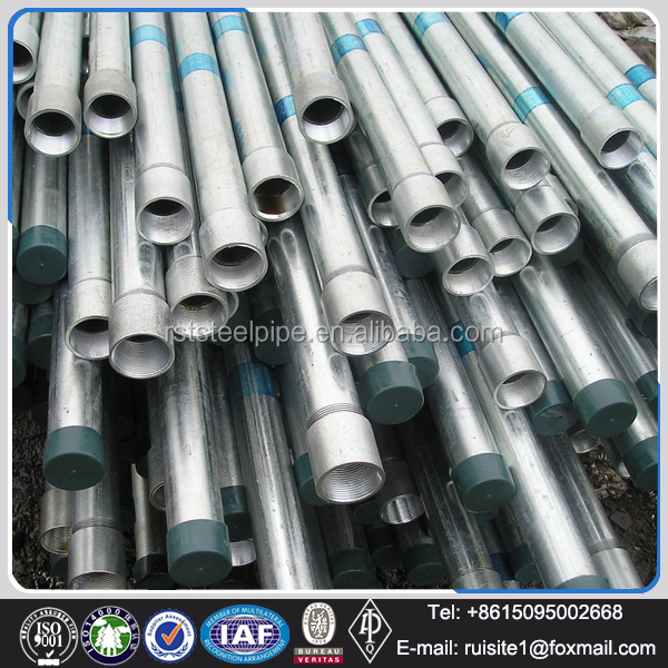 Coiled stainless 8 inch seamless galvanized steel tube for water