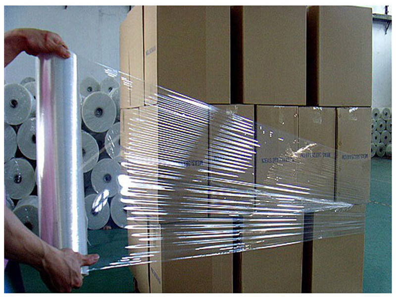 shrink wrap lldpe stretch film or pe stretch film for pallet wrapping