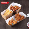 Wholasale customized disposable food tray with cover