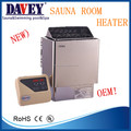 2017 davey good product 110v sauna heater 6kw remote control