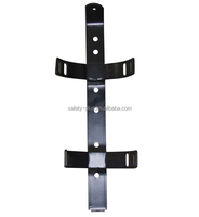 High quality Metel Black Bracket with two belts used for 6kg dry powder fire extinguisher