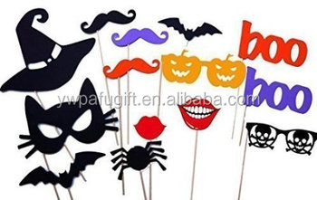 set of 14 halloween photo props