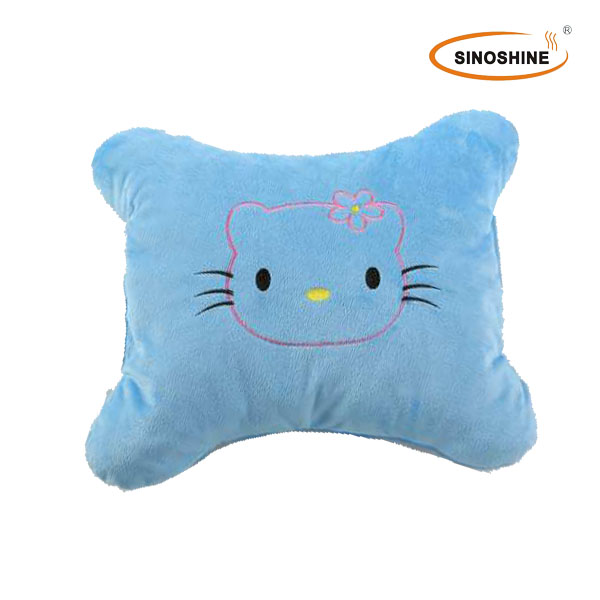 USB Powered heating pillow directly Dongguan Factory with OEM design