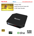 QINTAIX T9S PlusAmlogic s905 TV Box WiFi 4K*2K Media Player Android 5.1 Lollipop Google tv box with set top box