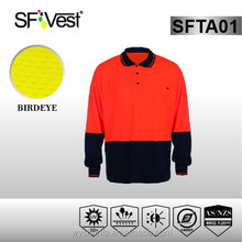 EN ISO 20471 custom made clothing polo shirt safety clothing wholesale t -shirt