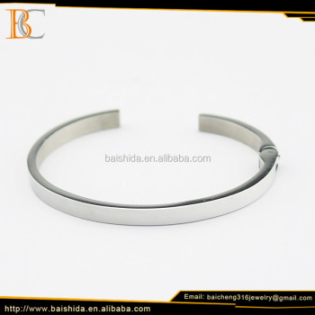 artificial European bracelet man stainless steel jewelry