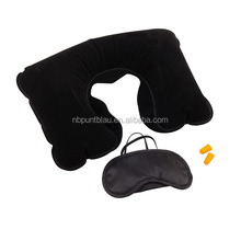 travel kit,travel set with pillow,eye shade and bag,3pcs