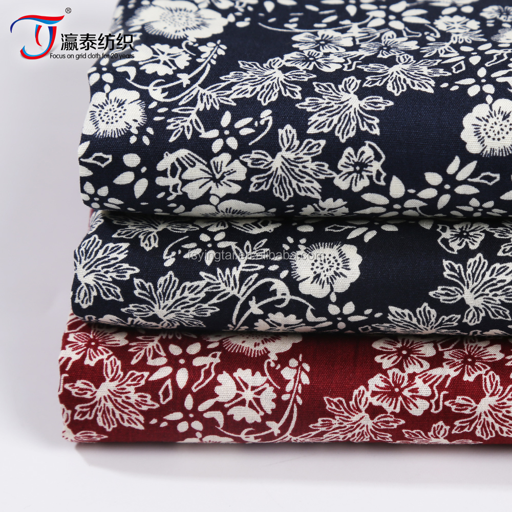 Factory direct sales top quality 100 cotton poplin fabric plain cloth for dress