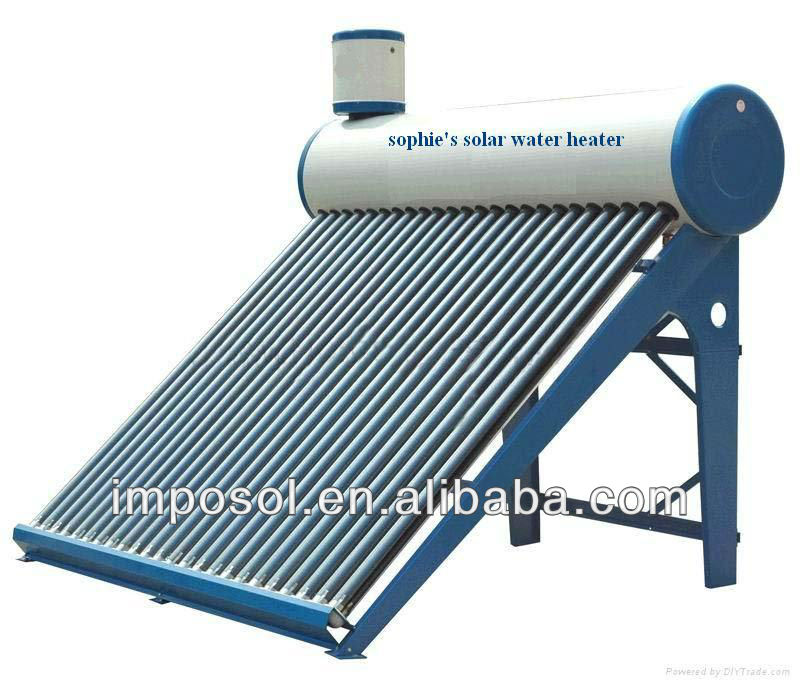 vacuum tube solar water heater construction