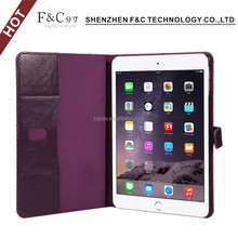 2018 Shenzhen handmade perfect fit delicate Canvas Houndstooth fabric case for ipad mini with hard stand PC shell