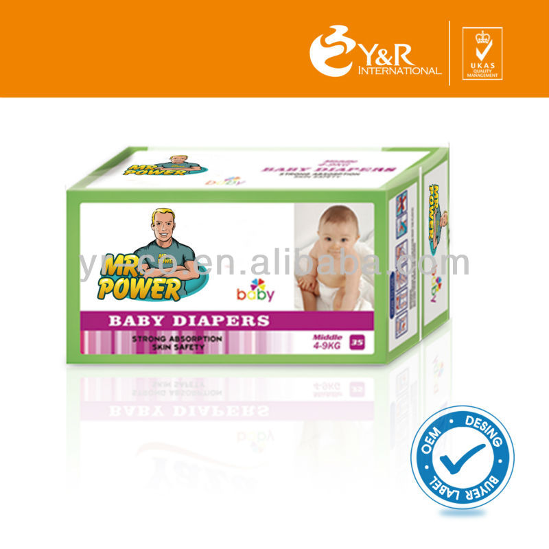 Finely Processed Disposable Baby Diaper, Diaper for Baby