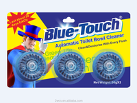 Blue-Touch brand Eco-friendly automatic toilet bowl cleaner Block