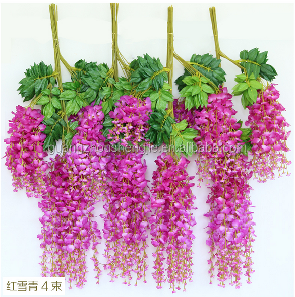 CHY012808 Wholesale China Market Wedding Flower for Wall Decoration Wisteria Vine