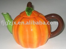Ceramic Pumpkin pot/tea pot-Halloween!