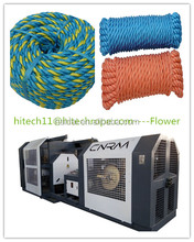 Twist Braid PP Twine Rope Production Line Rope making machine