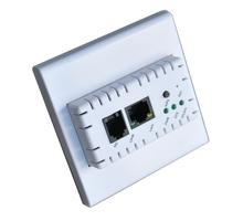 Hotel Wireless Router,Wireless AP Inwall AP 150mbps Combined Wired/Wireless Network for Offices/Hotels/Schools and Home