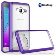 transparent tpu bumper protective phone cases for Samsung J3 2016 Amp Prime Express Prime