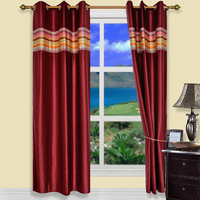 The best Fashion Royal style Luxury jacquard curtain designs