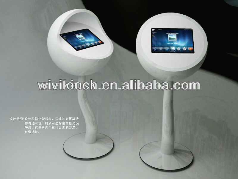 "Hottest sale 17"" free standing Touch screen kiosk ,Advertising player,touch screen kiosk"