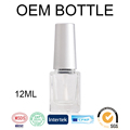 Hollyko small moq nail polish 12ml empty bottle private label uv gel polish china manufacturer