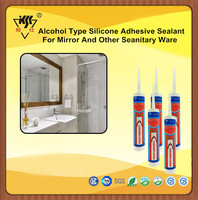 Alcohol Type Silicone Adhesive Sealant For Mirror And Other Seanitary Ware