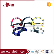 Wholesale 16 Pairs Bell Plastic Toy Tambourines (TW-16)