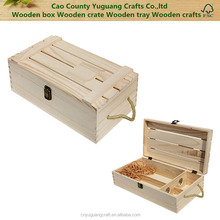 YG-C089 2 Bottles handmade wooden wine gift box
