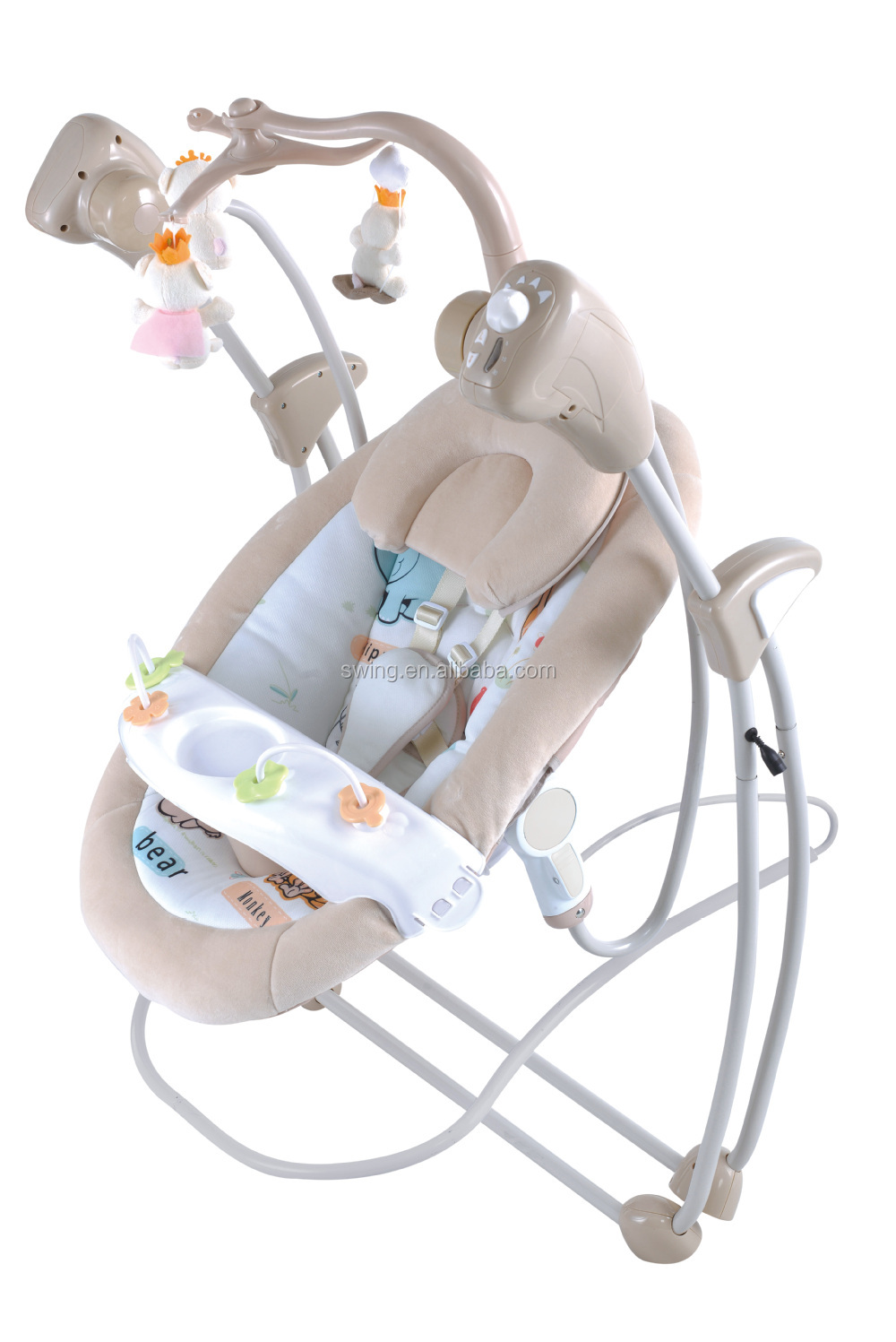 Hot selling 2 in1 baby rocking chair with 3 speeds vibration box