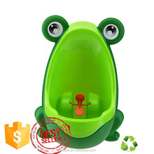 Frog Baby Potty Toilet Trainning for Boys Pee Trainer Bathroom Children Urinal with Whirling Target