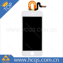 HCQS provide reasonable price Lcd glasses for ipod For ipod 5 digitizer with assembly For ipod parts