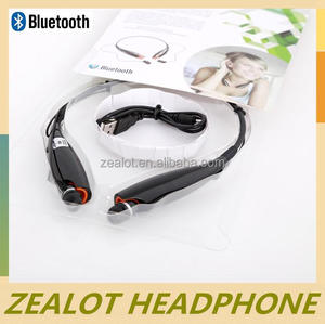 Universal stereo bluetooth headset with microphone handsfree music and phone call for any bluetooth device CE FCC RoHS