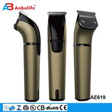 Anbolife professional stainless steel T- blade cordless electric pet grooming hair cutter hair clipper
