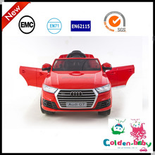 2016 Newest Licensed AUDI Q7 Ride On Car For Kids