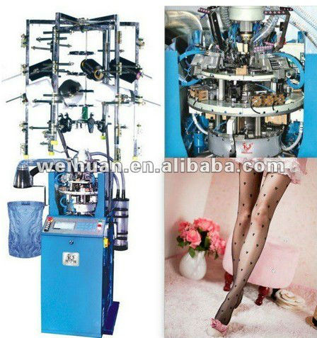 silk socks knitting machine 4 inch full automatic jacquard wh e7