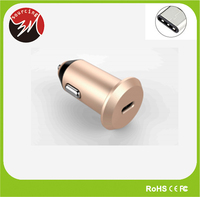 Promotional Mini Car Cigarette Lighter Power Adapter Type C Car Charger 3A for New Mac book Air and Some Andriod Devices