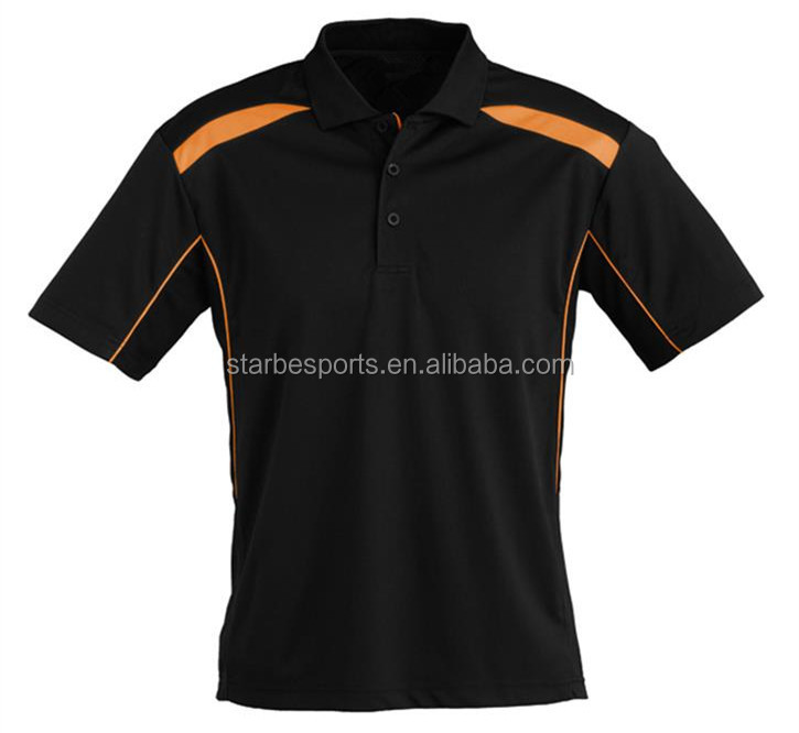 Polo Collar T Shirt Design, Cheap Dry Fit golf thirt