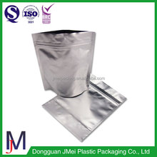 High Temperature Resistance food grade plastic food packing stand up ziplock bag/plastic chicken bag with zipper
