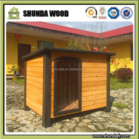 SDD07 luxury outdoor dog houses wooden pets kennel