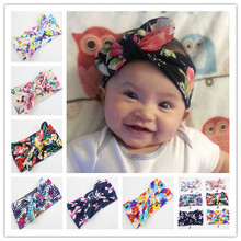 Cute Baby Girls Toddler Newborn Turban Twist Headband Flowers Head Wraps <strong>Hair</strong> Band <strong>Accessories</strong>