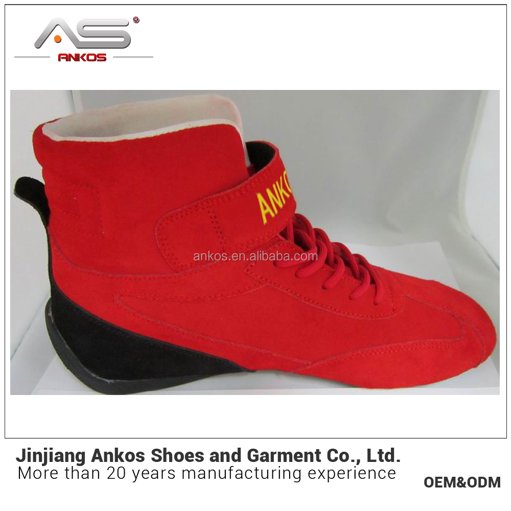 fashion and popular new arrival top quality and cheap fireproofing genuine leather racing shoes high-top sport shoes