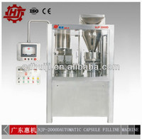 Hot sell NJP2000D hard gelatin capsule filling machine -qualified over 99%