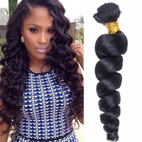 Free Shipping 7A 8A Grade 100% Human Virgin Hair Brazilian Cheap Wholesale Spring Curl Hair Weave