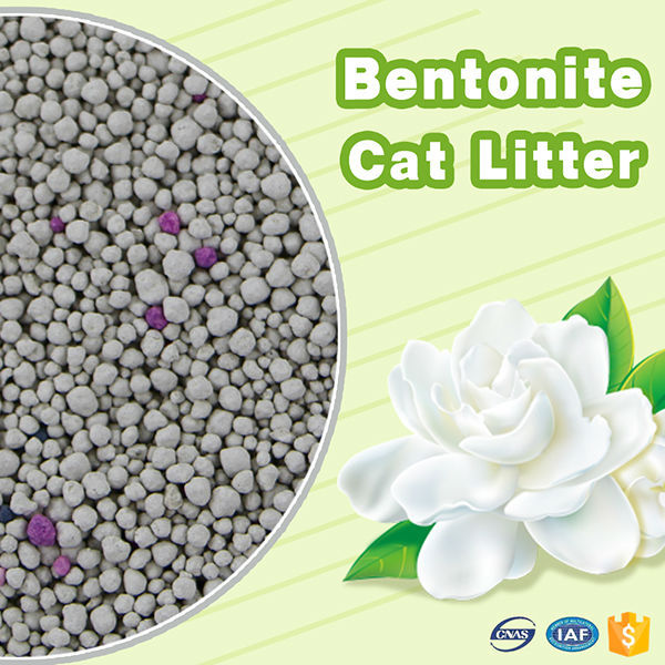 New pet products premium high efficient bentonite clumping kitty litter OEM